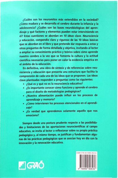10 IDEAS CLAVE - NEUROCIENCIA Y EDUCACIÓN-2038
