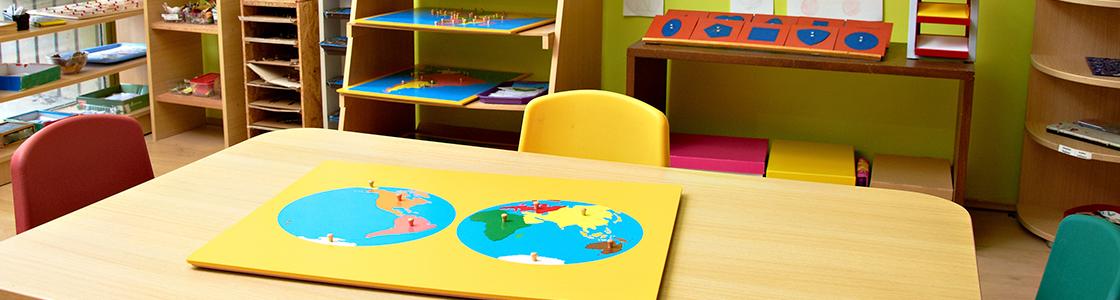Geografía Montessori