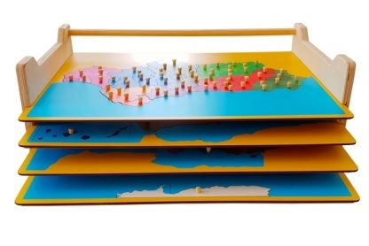 MAPAS PUZZLE + MAPA DE NAVARRA + EXPOSITOR DE REGALO-2143