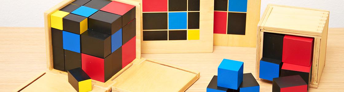 Material Sensorial Montessori